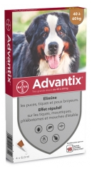 Bayer Advantix Big Dog 40 bis 60 kg 4 Pipetten