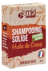 MKL Green Nature Shampooing Solide Huile de Coco Cheveux Secs 65 g