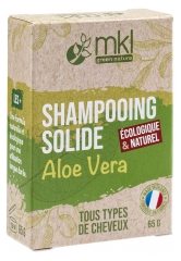 MKL Green Nature Shampooing Solide Aloe Vera Tous Types de Cheveux 65 g