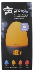 Tommee Tippee Groegg2 Nachtlichtthermometer 2in1