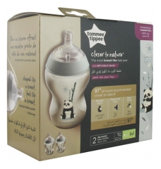 Tommee Tippee Closer to Nature 2 Biberons 260 ml 0 Mois et +
