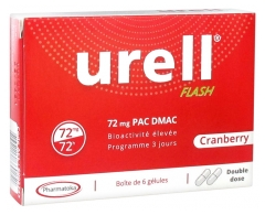 Pharmatoka Urell Flash Cranberry 6 Gélules