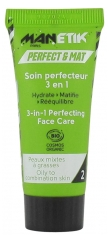 Manetik Perfect & Mat Soin Perfecteur 3en1 Bio 15 ml