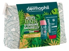 Dermophil Indien Strong Repair Hand Cream Kit 50ml + Tinted Lip Stick 4g