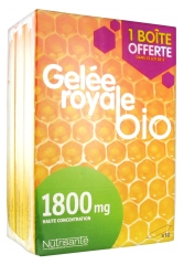 Nutrisanté Organic Royal Jelly 1800mg 3 x 10 Phials