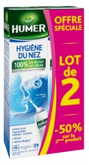 Humer Nasal Hygiene Adult 2 x 150ml Special Offer