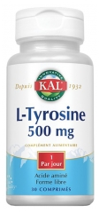 Kal L-Tyrosine 500mg 30 Tablets