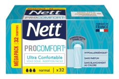 Nett ProComfort 32 Tampons Normal