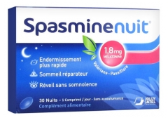 Laboratoires Jolly Jatel Spasmine Night 1,8mg Melatonin 30 Tablets