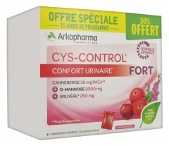 Arkopharma Cys-Control Strong 30 Sachets including 30% Offered