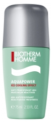 Biotherm Homme Aquapower Ice Cooling Effect 48Stdn Antitranspirant Roll-On 75 ml