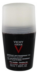 Vichy Homme Desodorante Antitranspirante 72H Control Extremo Roll-On 50 ml