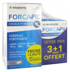 Arkopharma Forcapil Hair and Nails 180 Capsules + 60 Capsules Free