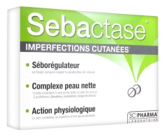 3C Pharma Sebactase 30 Tablets