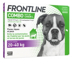 Frontline Combo Dog L (20-40kg) 4 Pipettes