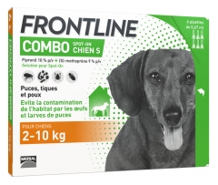 Frontline Combo Dog Size S (2-10kg) 6 Pipettes