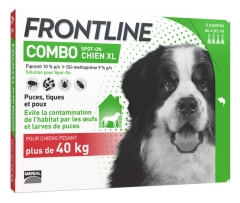 Frontline Combo Dog XL (40-60kg) 4 Pipettes