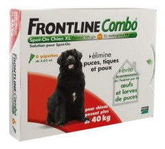 Frontline Combo Dog Size XL (40-60kg) 6 Pipettes