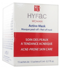 Hyfac Woman Active Mask Acne-Prone Skin Care 15 Sachets