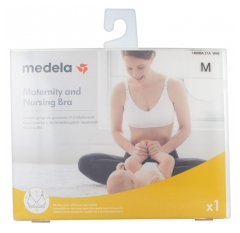 Medela Maternity and Nursing Bra White