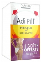 Nutreov Adi Pill 3D Slimness Sculpted Shape 3 x 40 Capsules