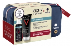 Vichy Homme Essential Kit + FAGUO Case Offered