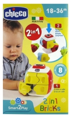 Chicco Smart2Play 2in1 Bricks 18-36 Months