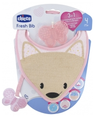 Chicco Fresh Bib 3in1 Bib 4 Months and +