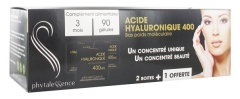 Phytalessence Acide Hyaluronique 400 mg Lot de 3 x 30 Gélules