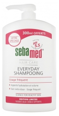 Sebamed Everyday Shampoing Usage Fréquent 1000 ml dont 300 ml Offerts