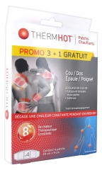TheraPearl ThermHot 3 Neck/Back/Shoulder/Wrist Heating Patch + 1 Free