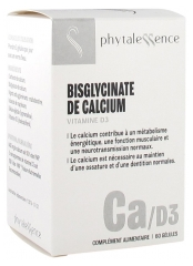 Phytalessence Calcium Vitamine D3 60 Gélules