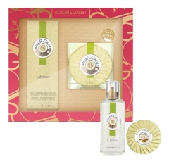 Roger & Gallet Citron Set 2020 Fragranced Well-Being Water 100ml + Perfumed Soap 100g Free