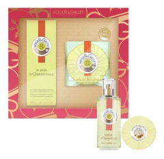 Roger & Gallet Set 2020 Fragrant Well-Being Water Osmanthus Flower 100ml + Perfumed Soap 100g Offered