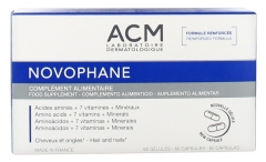 Laboratoire ACM Novophane 60 Vegetable Capsules
