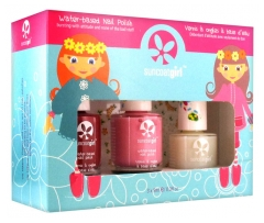 Suncoatgirl Nail Polish and Top Coat Kit