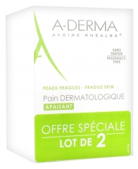 Aderma Soap Free Dermatological Bar 2x100g