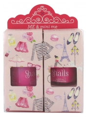 Snails Me & Mini Me Pack Maman - Fille 2 Vernis à Ongles