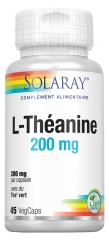 Solaray L-Théanine 200mg 45 Vegetable Gel-Caps