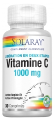 Solaray Vitamin C 1000mg 30 Tablets