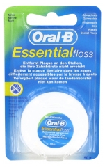 Oral-B Essential Floss Hilo Dental Encerado Sabor a Menta 50 m