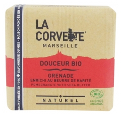 La Corvette Gentle Soap Organic Pomegranate Enriched with Shea Butter 100g