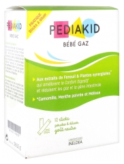 Pediakid Gaz Baby 12 Sticks