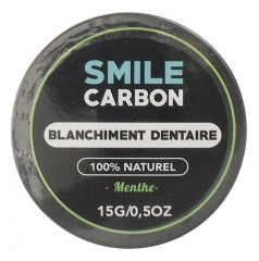 Smile Carbon Blanchiment Dentaire Menthe 15 g