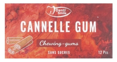 Denti Smile Cannelle Gum 12 Chewing-Gums