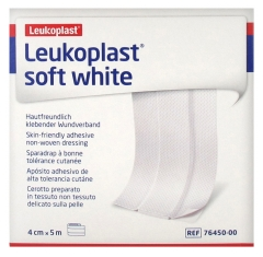 BSN Medical Leukoplast Soft White Plaster With Good Skin Tolerance 4 cm x 5 m