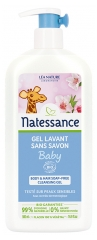 Natessance Baby Body & Hair Soap-Free Cleansing Gel Organic 500ml