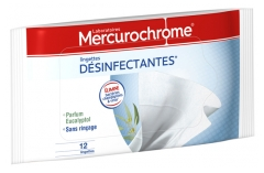 Mercurochrome Disinfectant Wipes 12 Wipes
