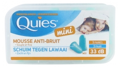 Quies Mini Protection Auditive Mousse Anti-Bruit 3 Paires