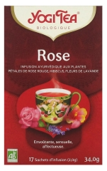Yogi Tea Bio-Rose 17 Beutel
